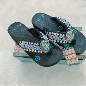 MONTANA WEST Molly Flipflop Slippers